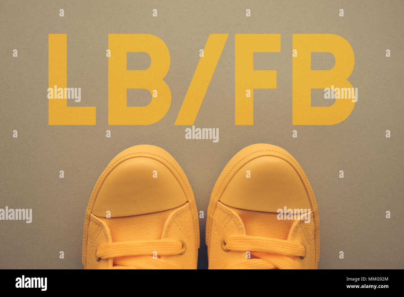 LB or FB, shorthand for Like Back and  Follow Back, refers to certain behavior on social media - Stock Image