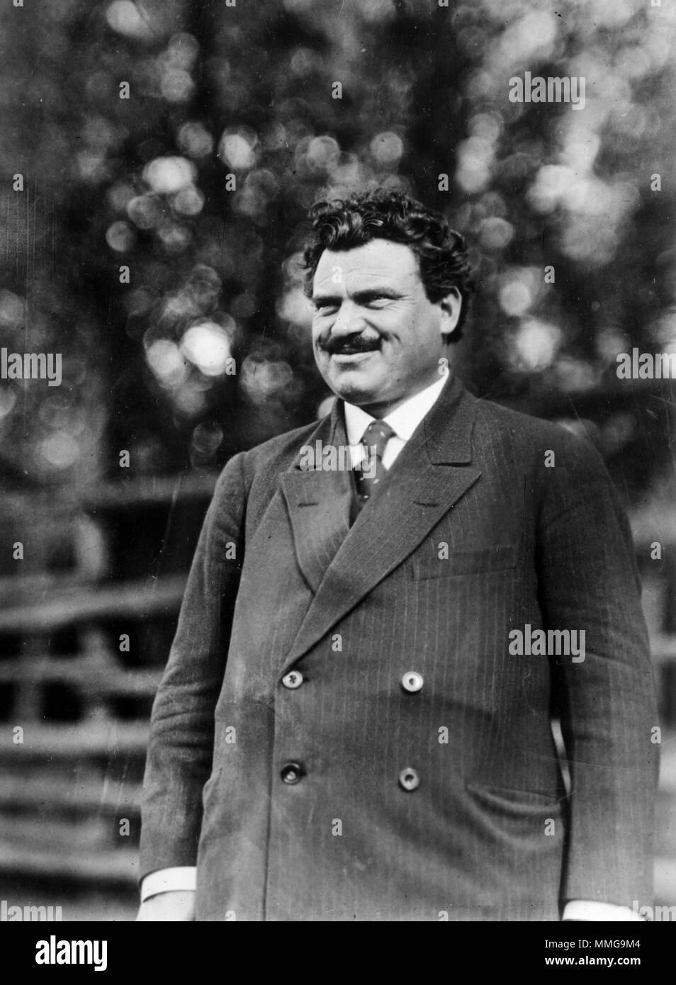 Aleksandar Stamboliyski, (1879 – 1923) prime minister of Bulgaria from 1919 until 1923 - Stock Image