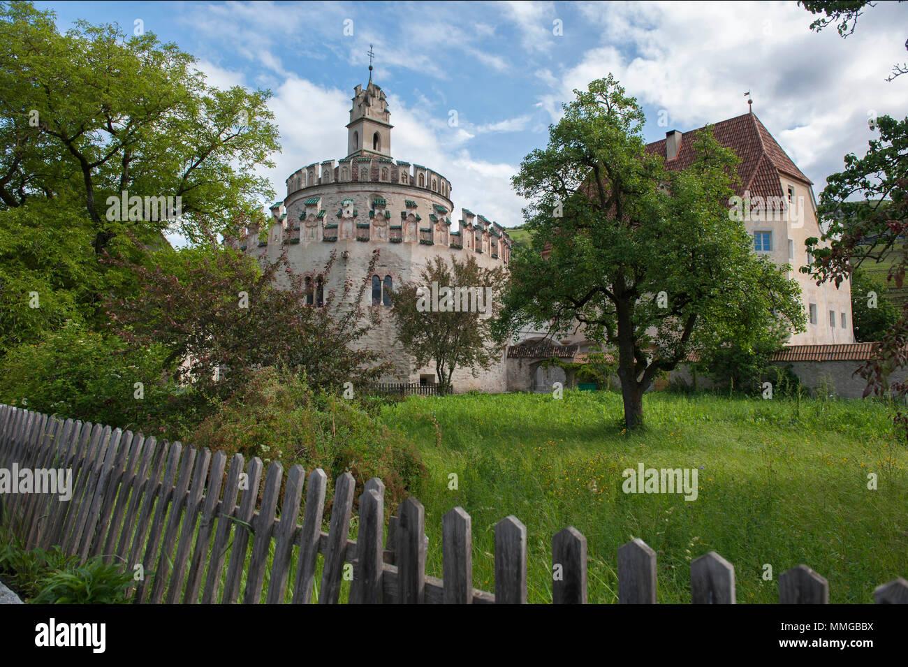 Varna, Bolzano. Sant'Angelo castle, Novacella Abbey ...