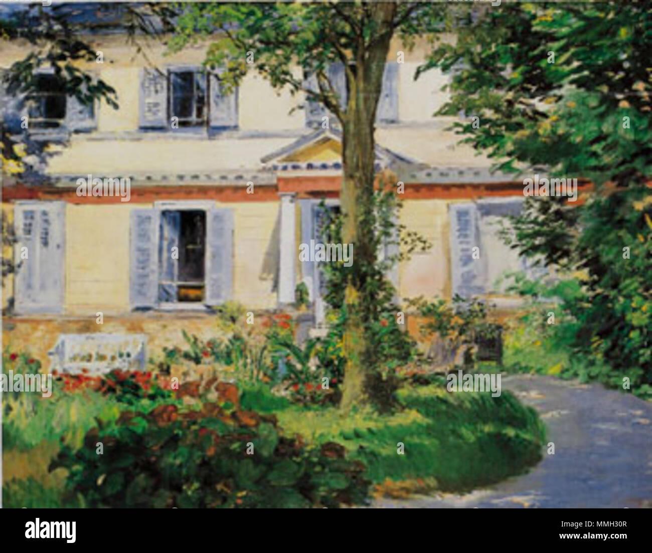 French maison à rueil house in rueil 1882 edouar manet la maison de rueil