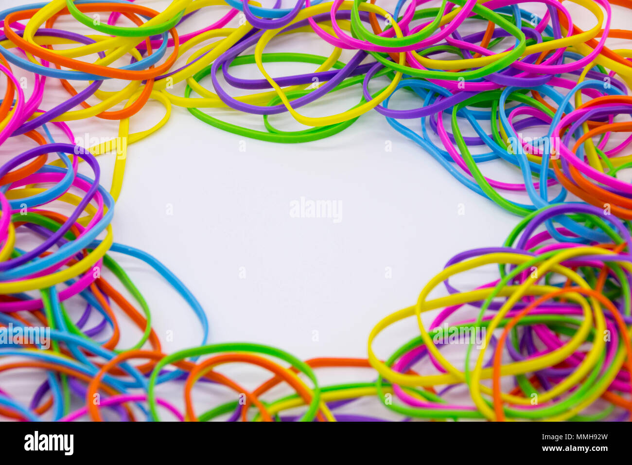 Pile Of Elastic Bands Stock Photos & Pile Of Elastic Bands Stock ...