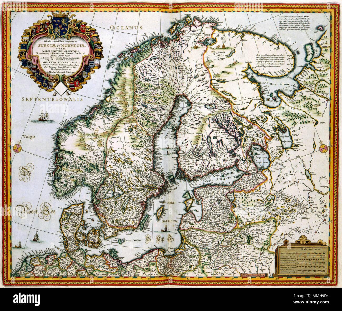 Nederlands In Tegenstelling Tot Noorwegen Dat Tot 1814 Deel