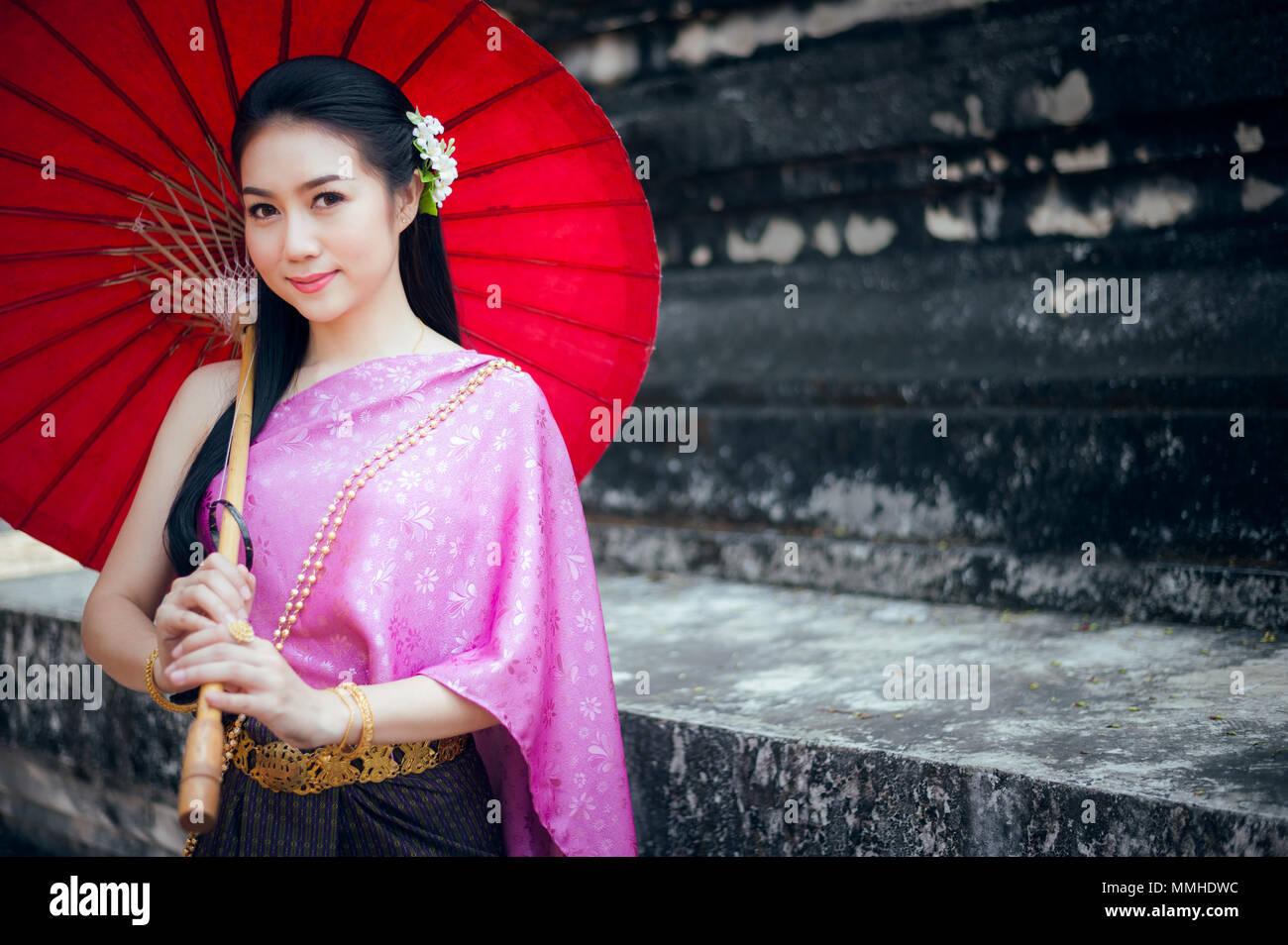 Beauty Asian Girl Greeting In Stock Photos Beauty Asian Girl