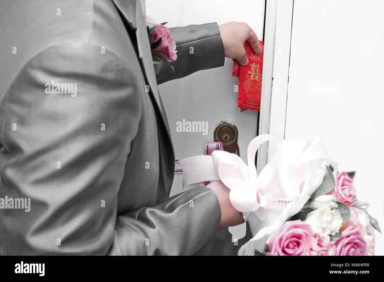 Chinese Wedding Customs Stock Photo