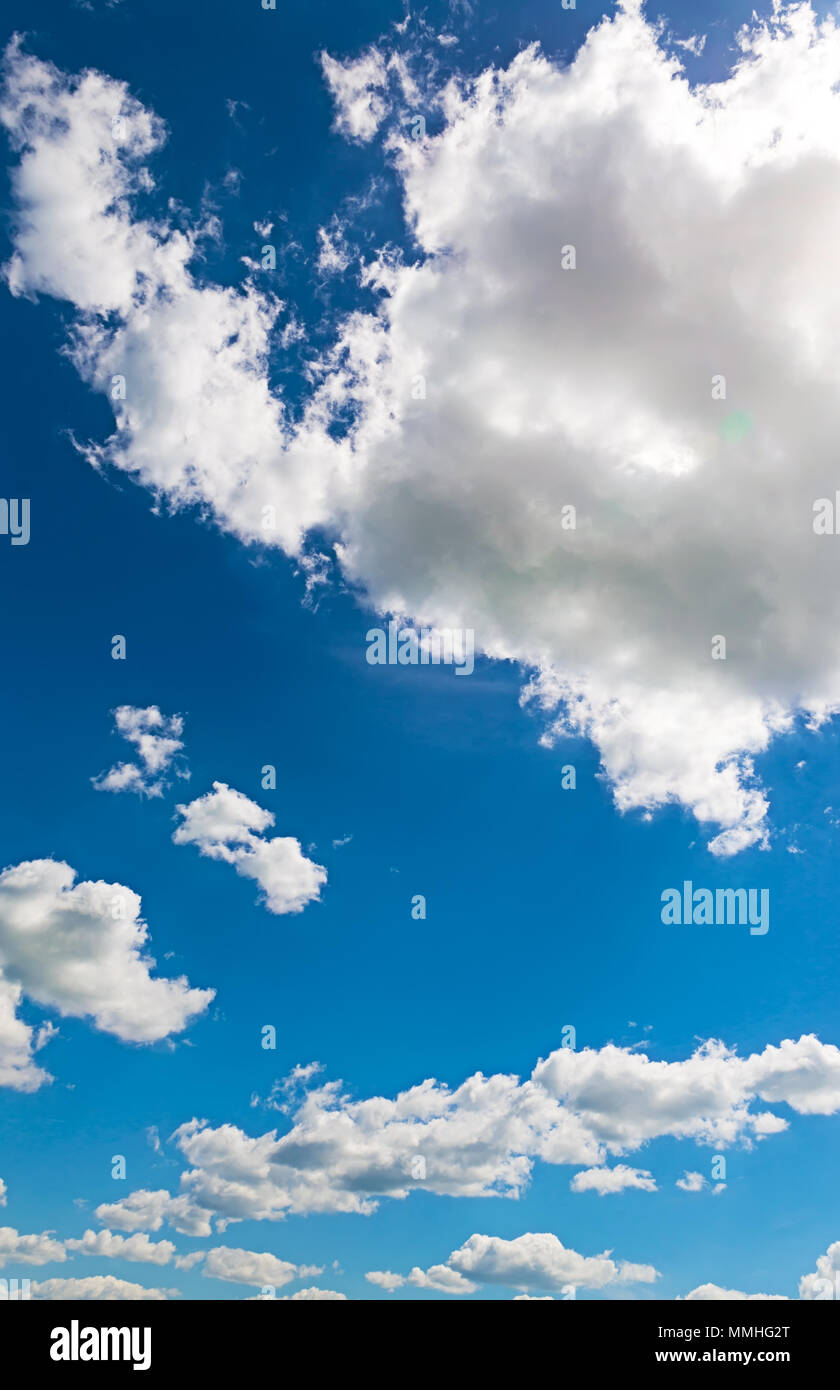 Sky daylight. Natural sky composition. Element of design - Stock Image