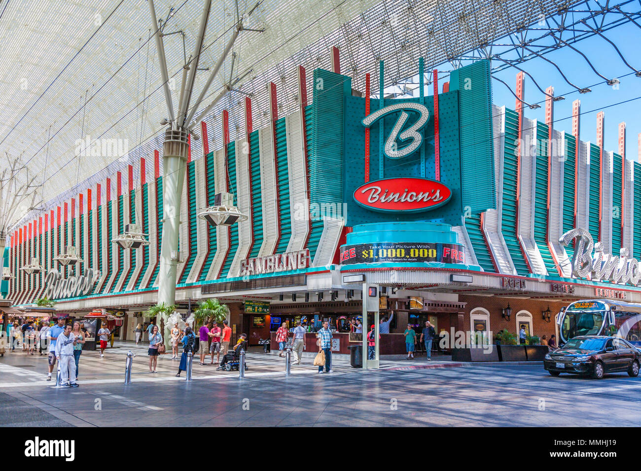 binions gambling hall casino