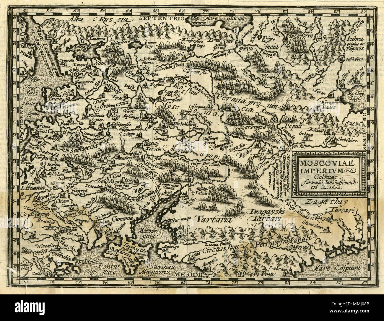 Map Europe 16th Century Stock Photos Map Europe 16th Century Stock