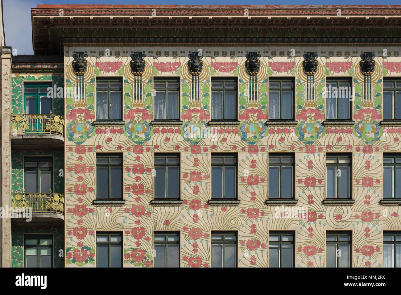 Majolikahaus Majolica House Designed By Austrian Modernist