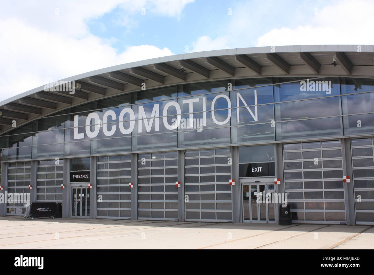 The Locomotion building at Shildon, part of the National Railway Museum Stock Photo