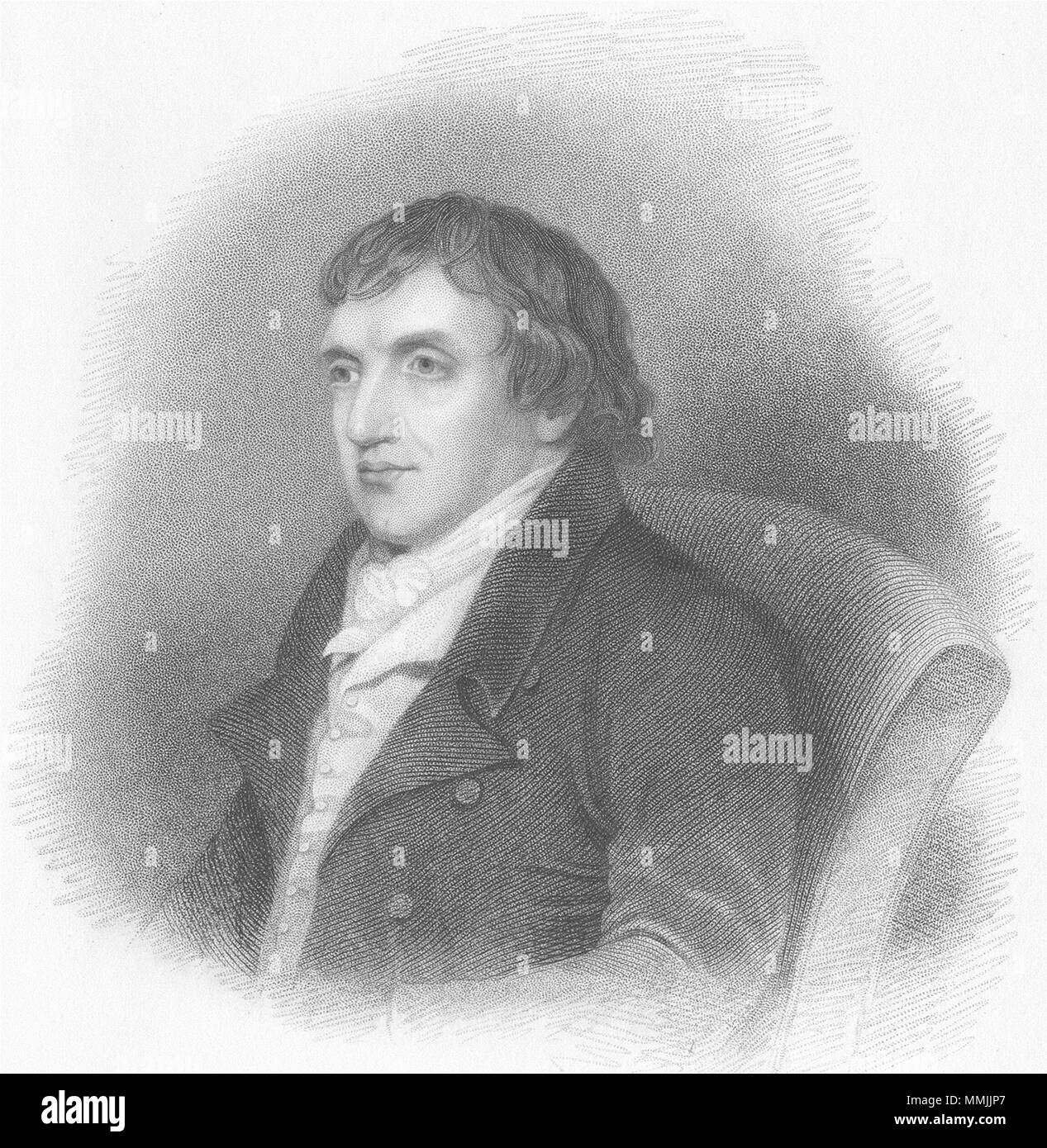 PORTRAITS. Possession of Murray-Finden 1833 old antique vintage print picture - Stock Image