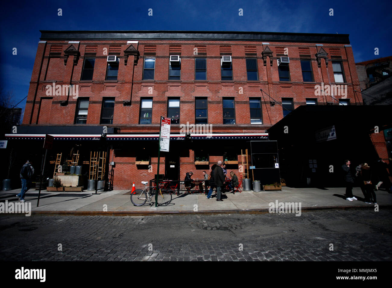 Meatpacking District of Manhattan, New York City - Stock Image