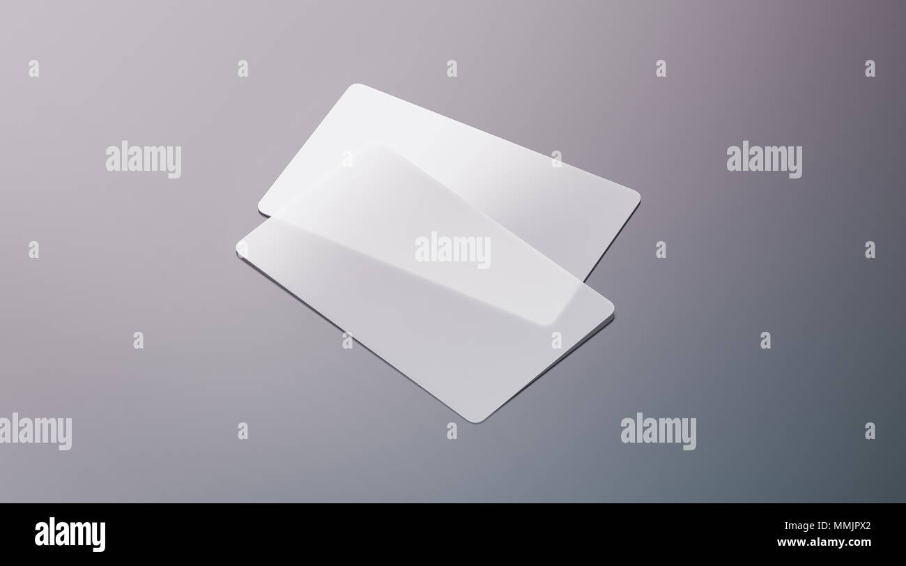 Blank plastic transparent business cards mock up 3d rendering blank plastic transparent business cards mock up 3d rendering clear pvc namecard mockup with rounded corners empty acrylic horizontal customer pasteboard fbccfo