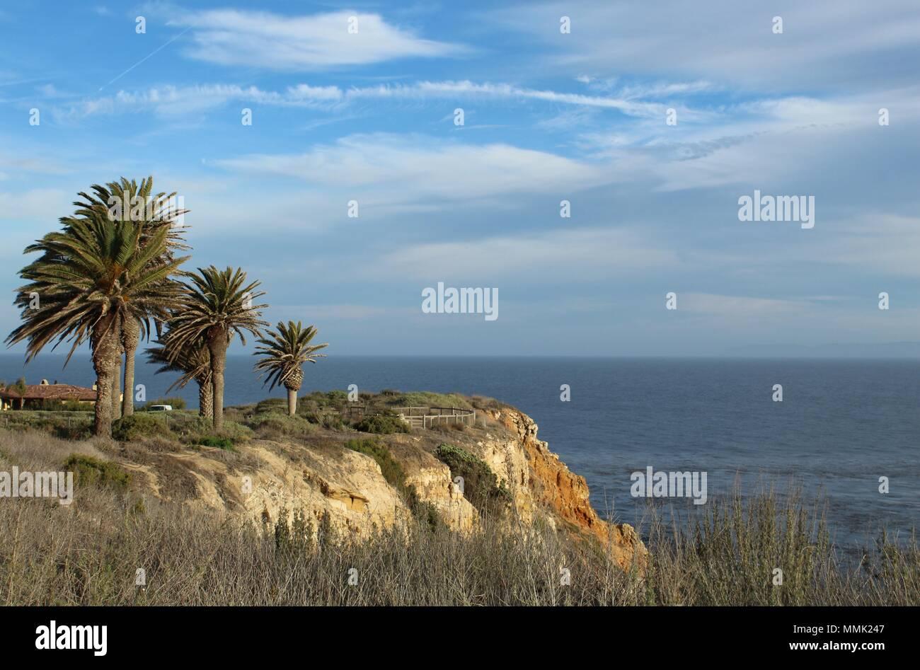 Long Point, Terranea Resort, Palos Verdes Peninsula, California - Stock Image