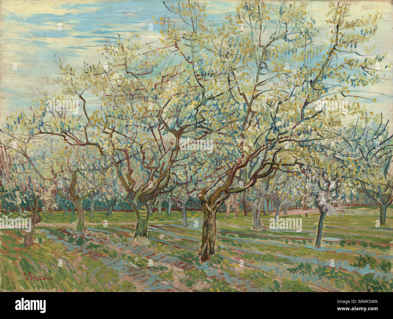 Gogh orchard stock photos & gogh orchard stock images page 2 alamy