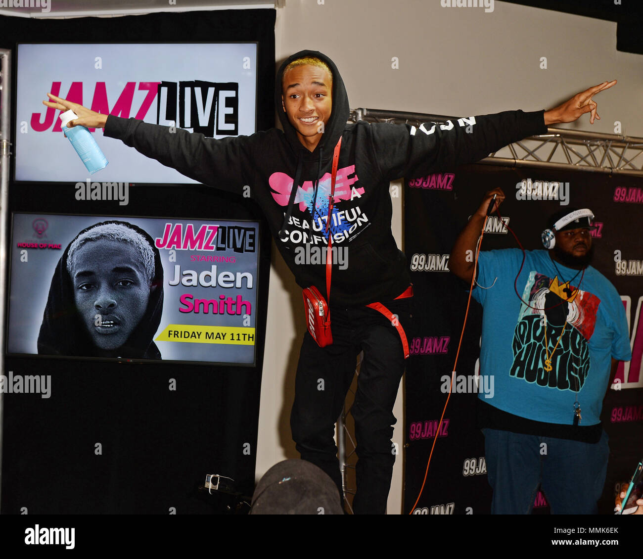 Jaden Smith Viists Jamz Live At Radio Station 99 On May 11 2018 In Hollywood Florida Credit Mpi04 Media Punch Alamy News