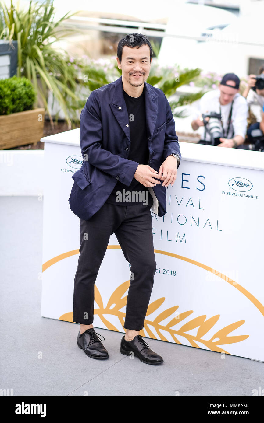 Cannes, France. 12th May 2018. Liao Fan at the 'Ash Is Purest White' photocall on Saturday 12 May 2018 as part of the 71st Cannes Film Festival held at Palais des Festivals, Cannes. Pictured: Liao Fan. Picture by Julie Edwards. Credit: Julie Edwards/Alamy Live News Stock Photo