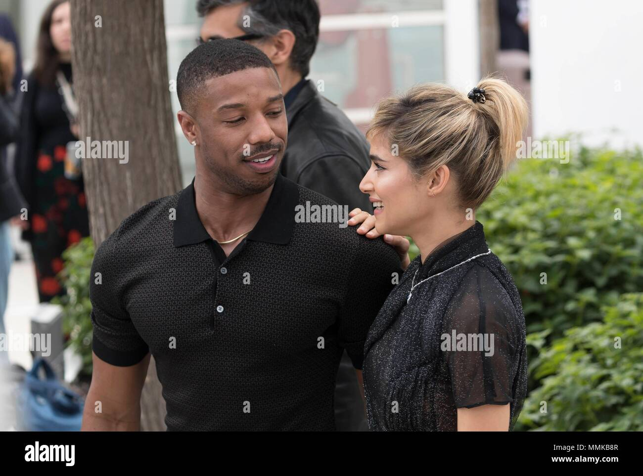09e28c516ebe1c Michael B Jordan And Sofia Boutella Stock Photos   Michael B Jordan ...