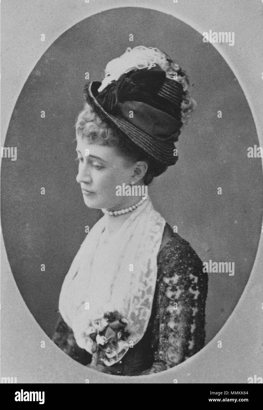 Hélène Standish (1847-1933) A Stock Photo