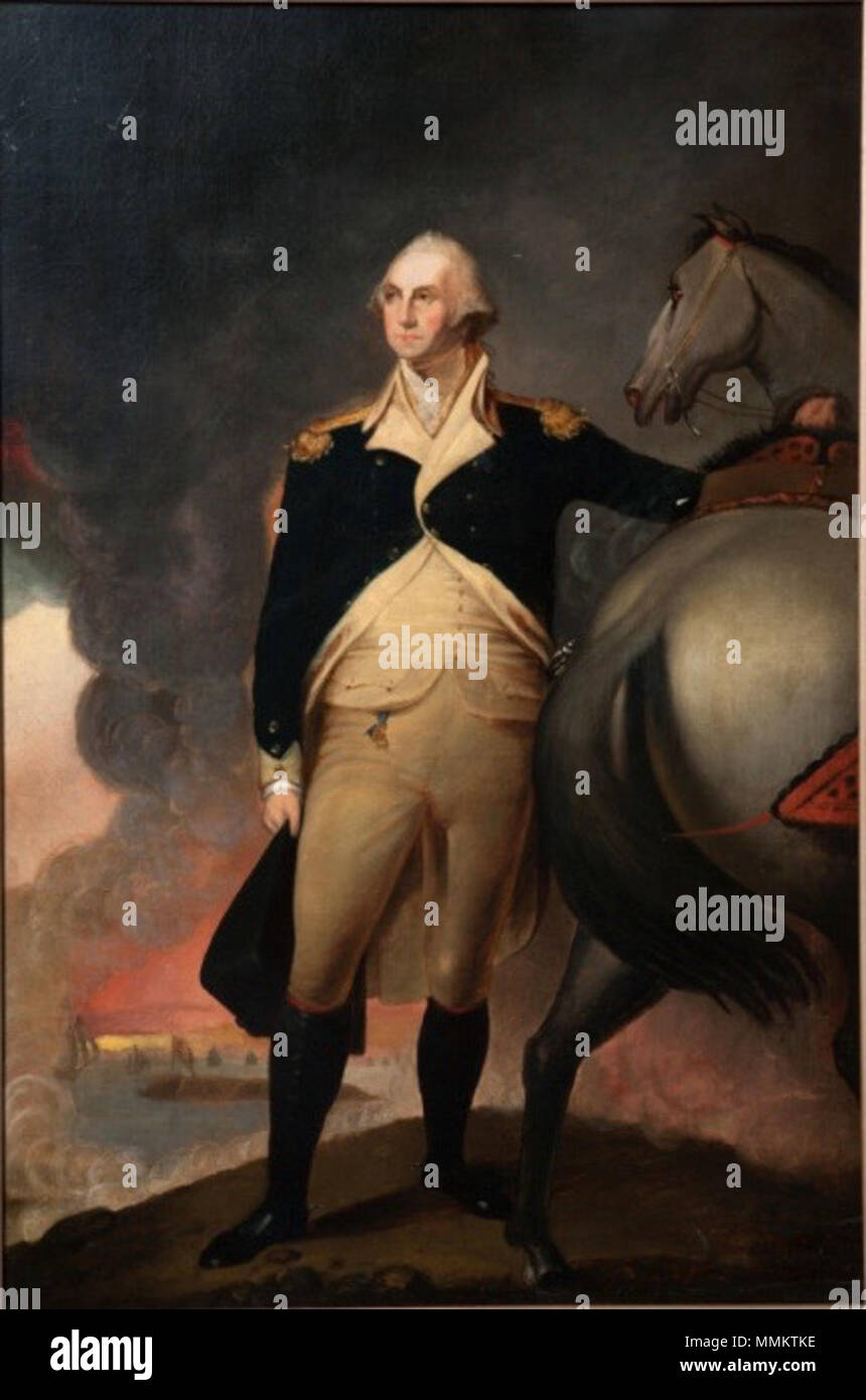 . Portrait of George Washington Dorchester Heights  . circa 1806 (original painting); copy painted in 1860; photograph taken on April 26, 2010.. copy by   Jane Stuart  (1812–1888)    Description American painter  Date of birth/death 1812 1888  Location of birth/death Boston, Massachusetts Newport  Authority control  : Q16062742 VIAF:?121659800 ULAN:?500006645 LCCN:?nr90012977 RKD:?75882 WorldCat      After Gilbert Stuart  (1755–1828)      Alternative names Gilbert Charles Stuart ; Birth name: Gilbert Charles Stewart  Description American painter  Date of birth/death 3 December 1755 9 July 1828 Stock Photo