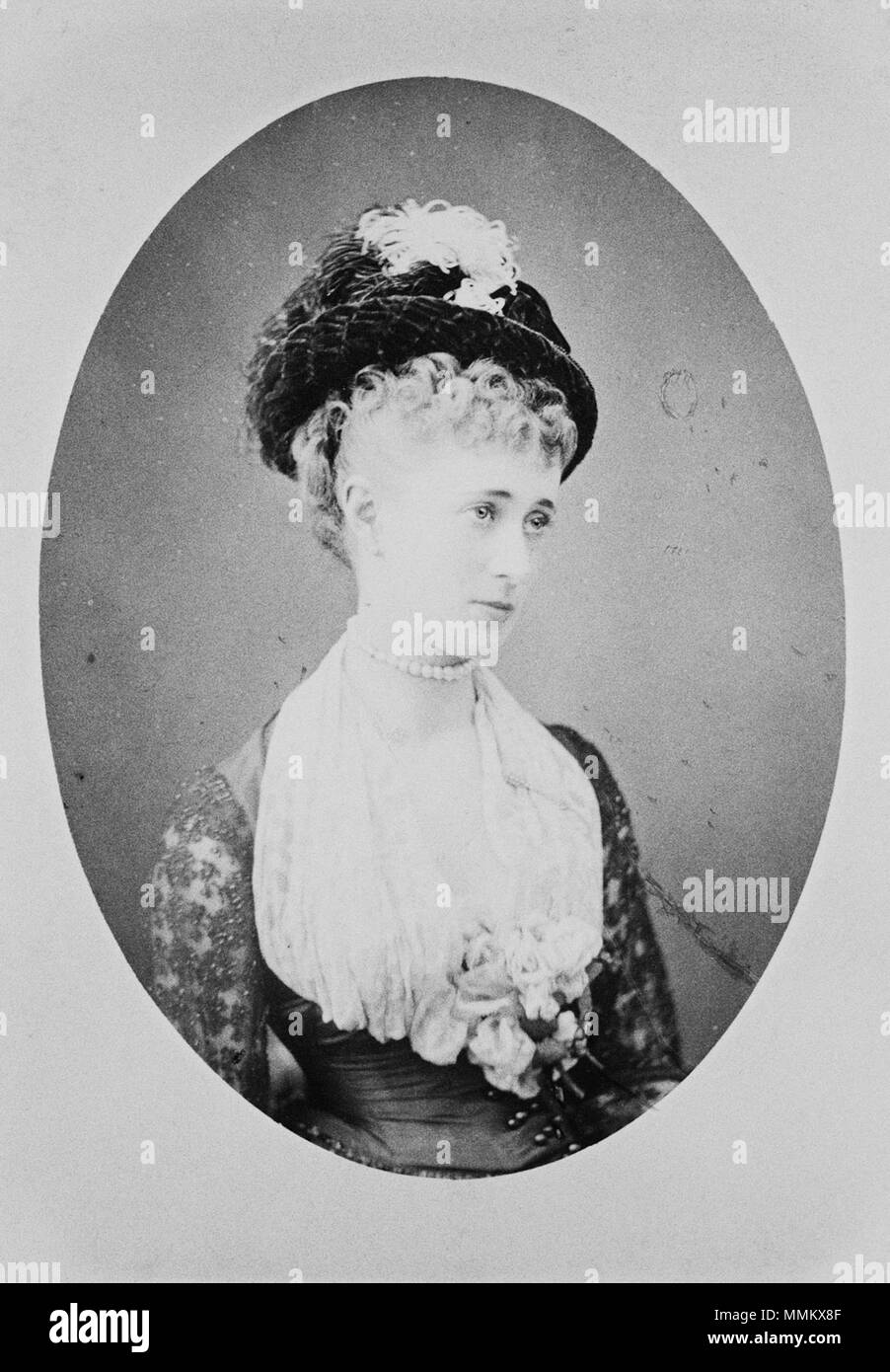 Hélène Standish (1847-1933) C Stock Photo