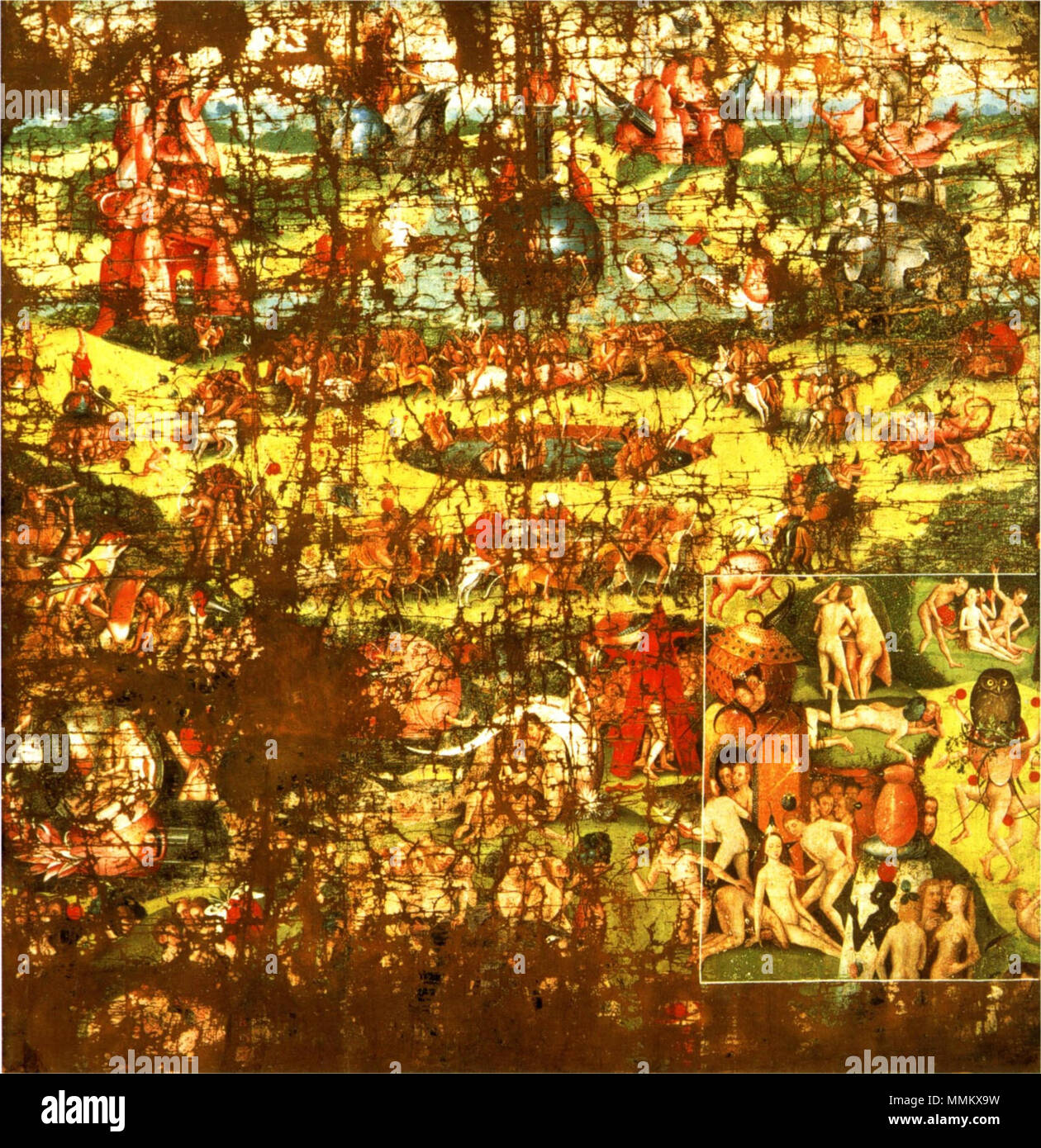 The Garden of Earthly Delights. between 1480 and 1568. After ...
