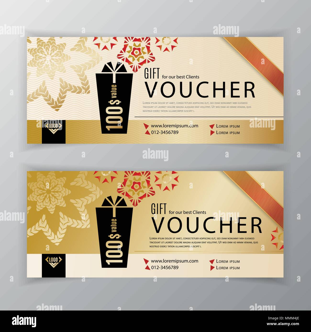 Gift voucher template universal flyer for business clean vector gift voucher template universal flyer for business clean vector design black gold design elements clean design for department stores business ab cheaphphosting Gallery