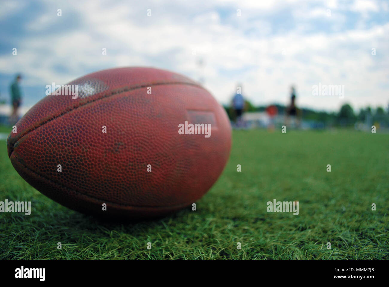 American football is a way of life - Stock Image