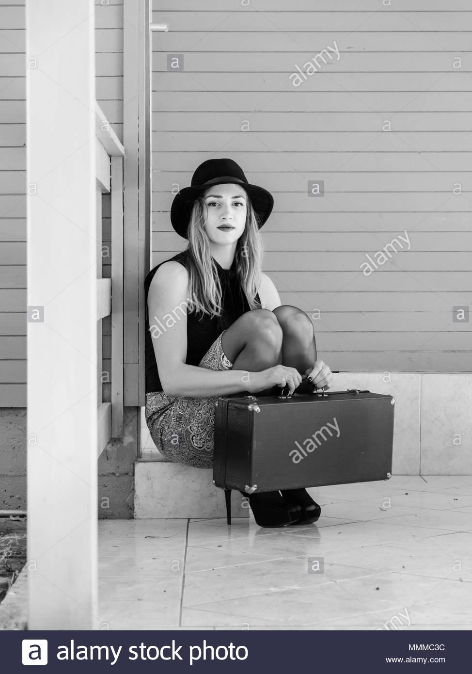 Teen girl - Stock Image