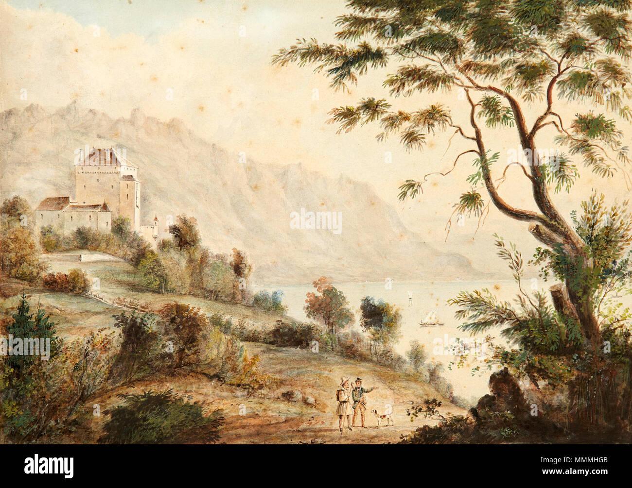 Deutsch: Le Château de Chatelard Auktionshaus Zofingen, Autumn 2013, Lot Nr. 273 - Stock Image