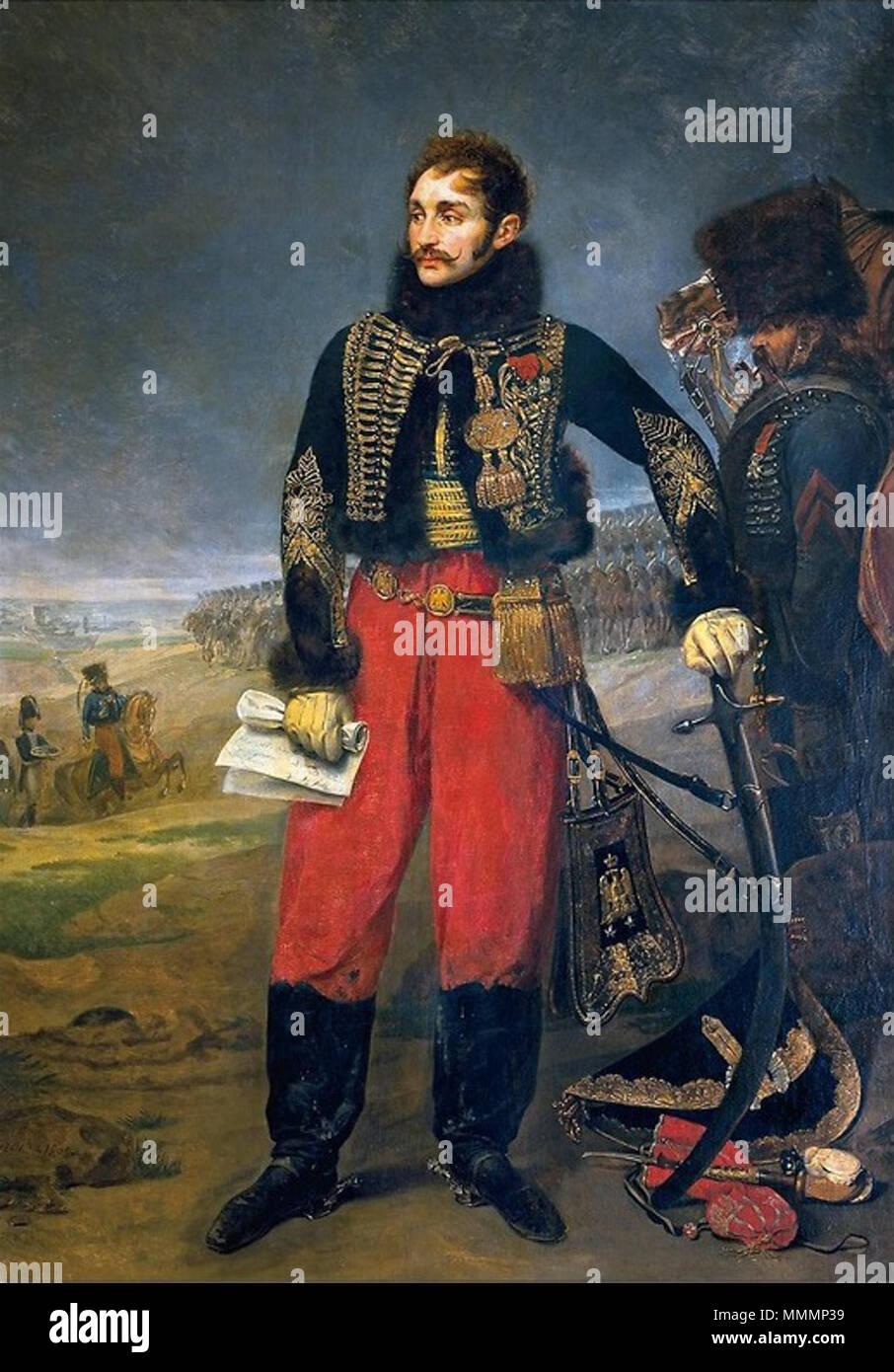 Général Antoine Charles Louis Comte de Lasalle Stock Photo