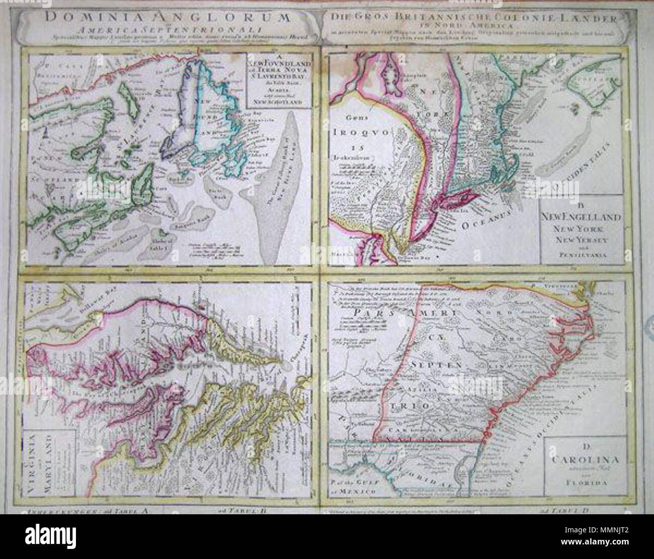 Picture of: Map Of Eastern Pennsylvania High Resolution Stock Photography And Images Alamy