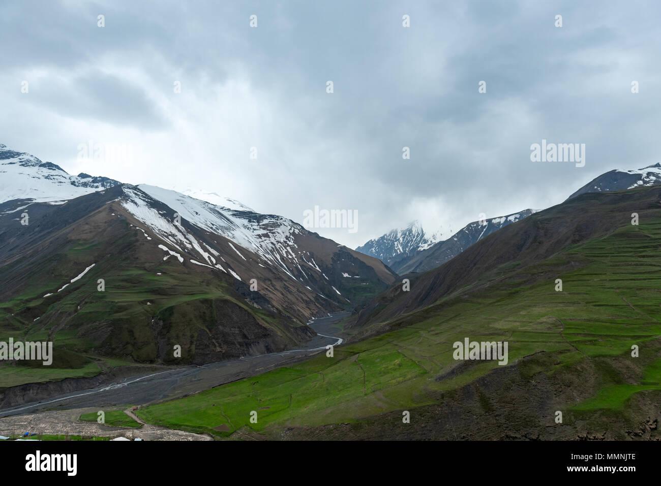 Highlands, beautiful high mountains - Stock Image