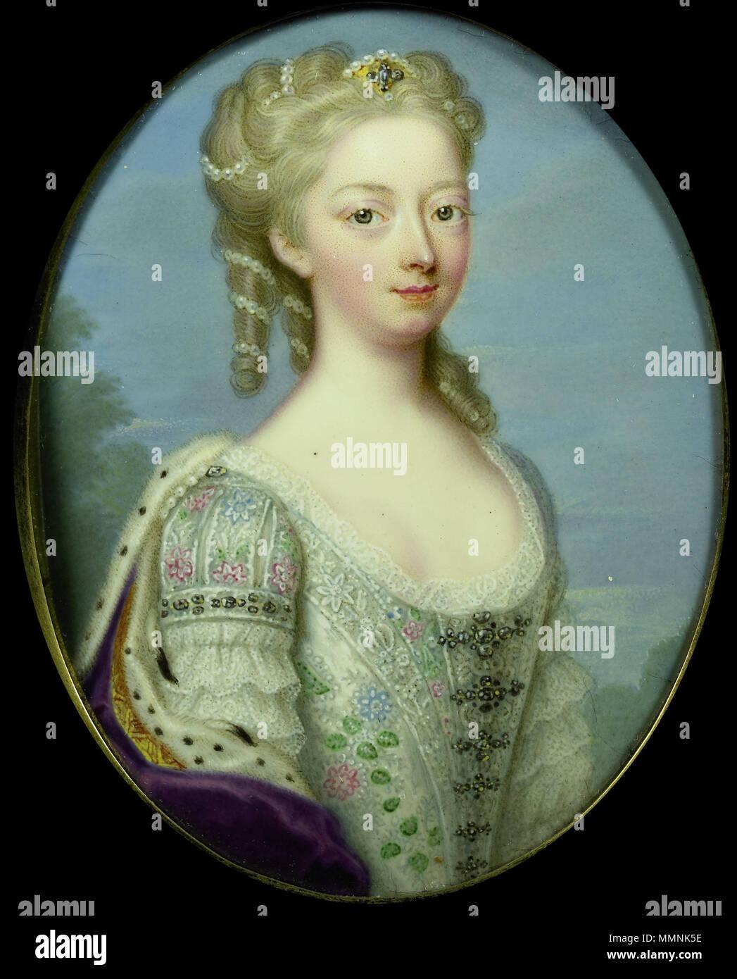 Portrait of Anne, Princess Royal and Princess of Orange (1709-1759 ...