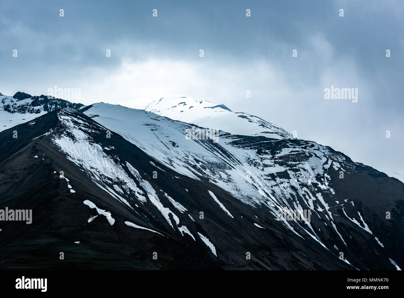 Highlands, beautiful high mountains - Stock Image