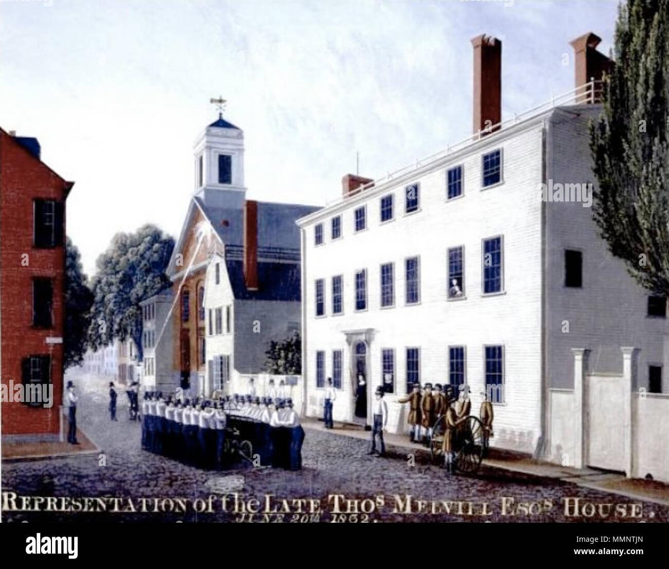 Marvelous Thomas Melvill House Green Street Boston 1832 7 1832 Home Interior And Landscaping Ologienasavecom