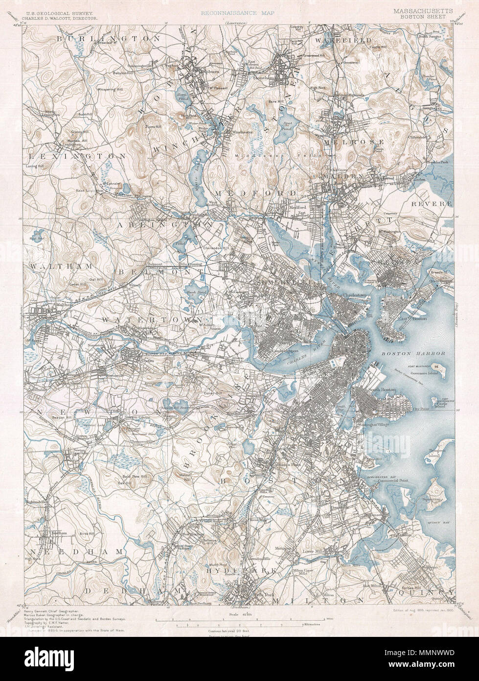 English: One of the most sought after topographical maps ...