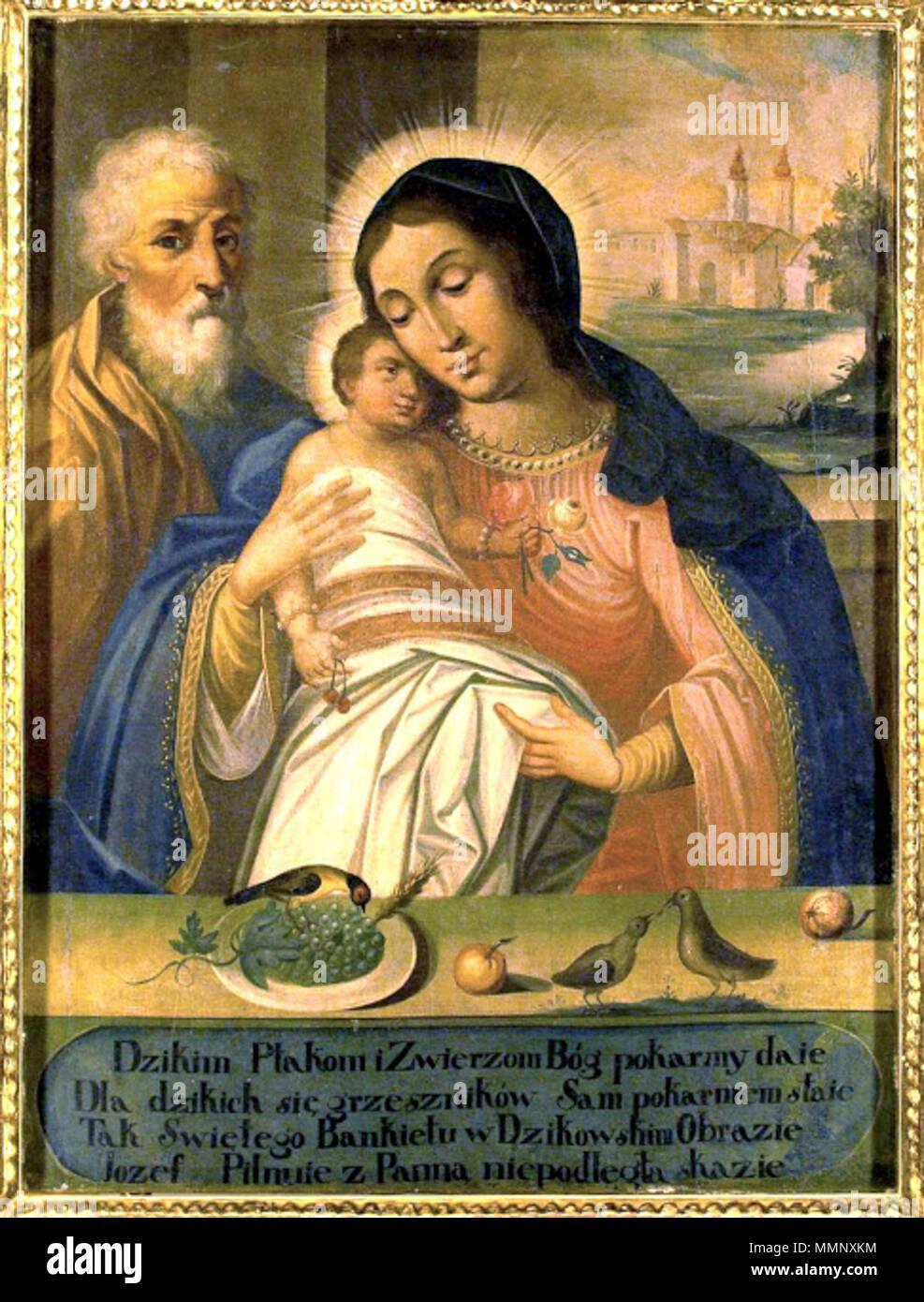 . English: Our Lady of Chorzelów Polski: Matka Boża Dzikowska / Chorzelowska  . 3 January 2014, 18:51:11. M. Brzezi?ski 16 3-MB-Chorzelowska-2010 - Stock Image