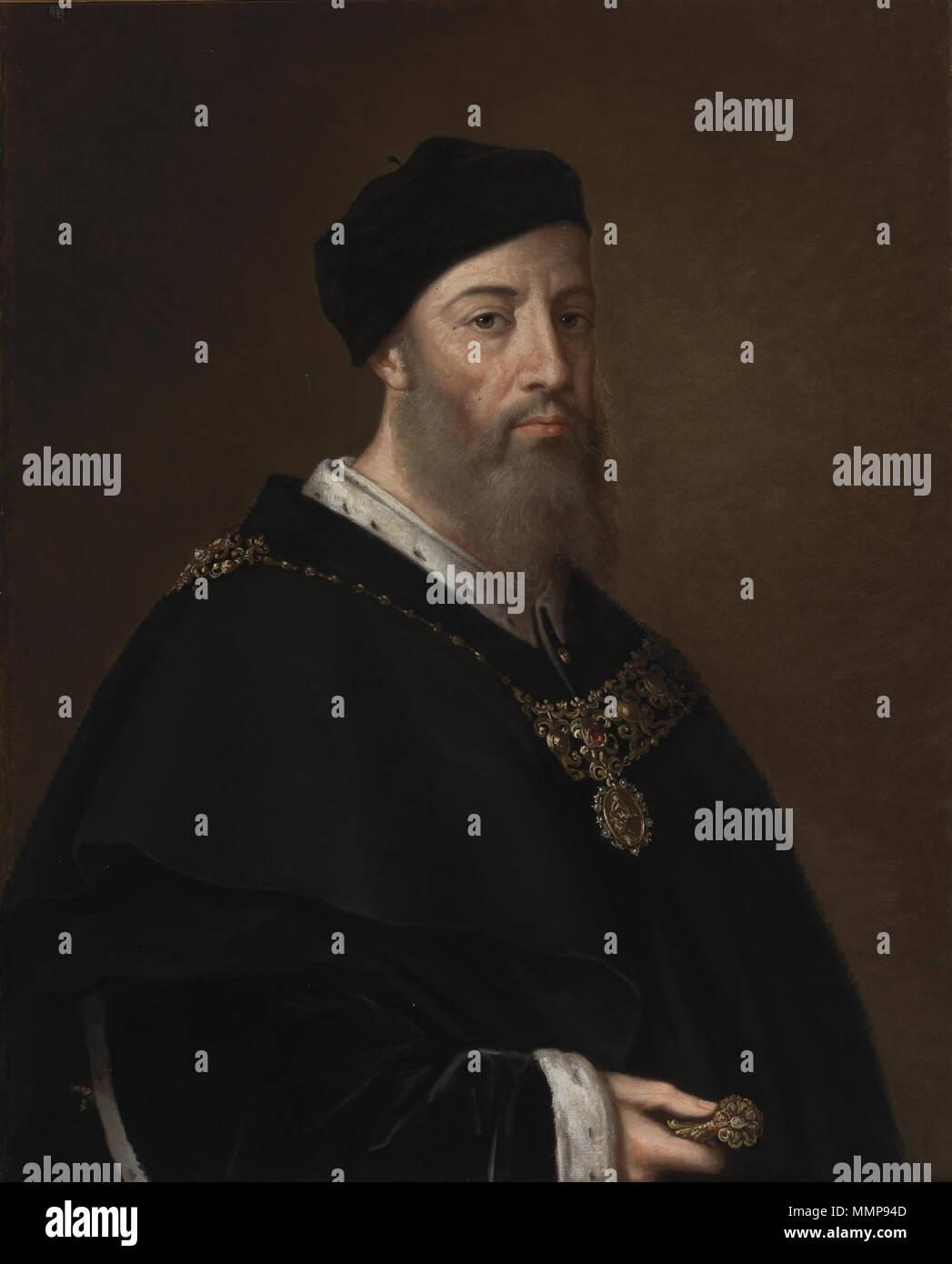 Alonso Gurrea de Aragón, conde de Ribagorza y duque de Luna (Museo del Prado) - Stock Image