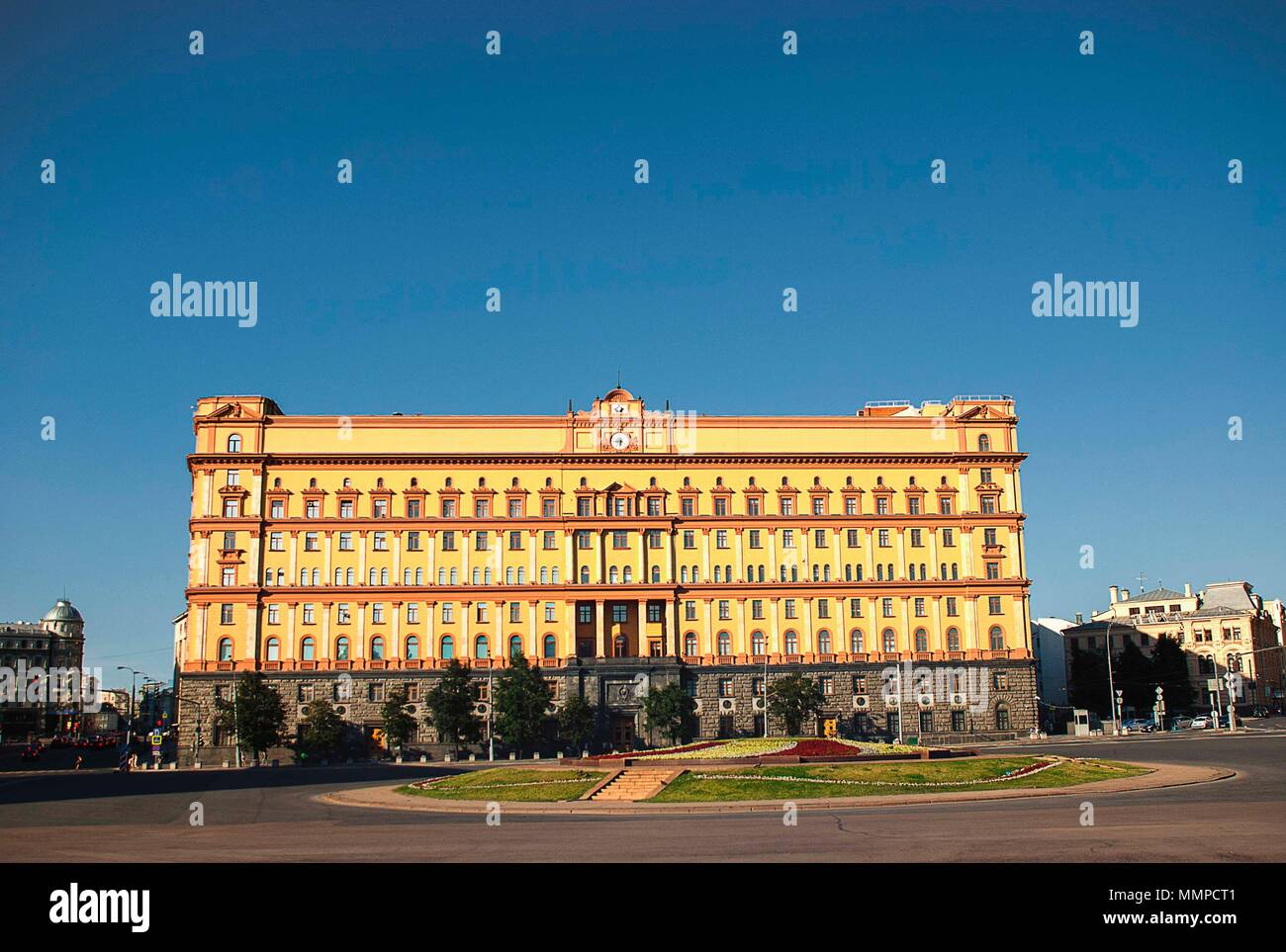 The Lubyanka building in central Moscow - Stock Image