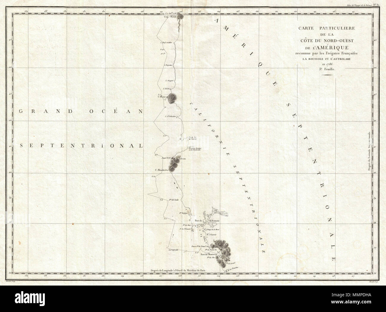 English: This is a fine example of La Perouse\'s important 1787 ...