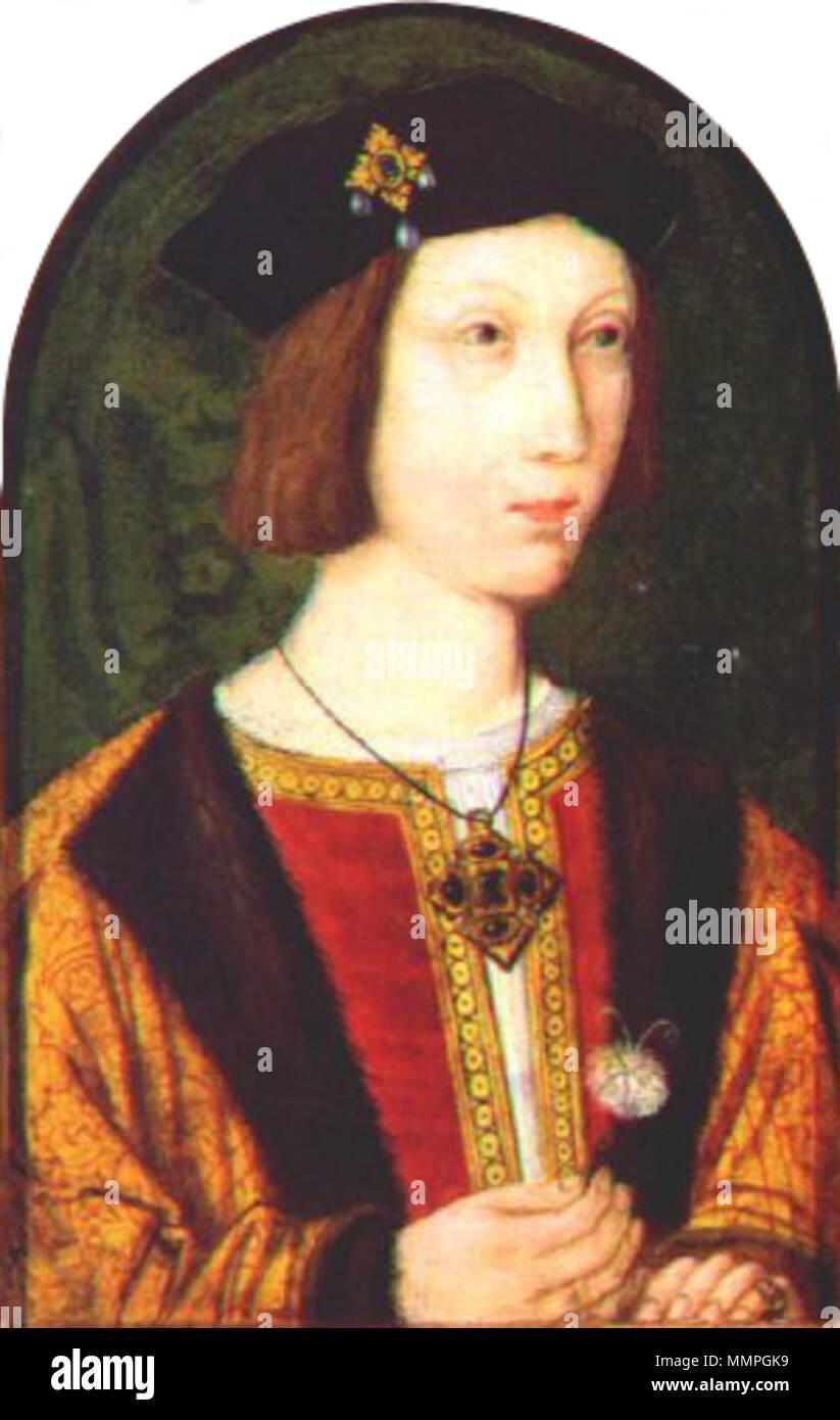 Elizabeth Of York Henry Vii Stock Photos & Elizabeth Of York Henry