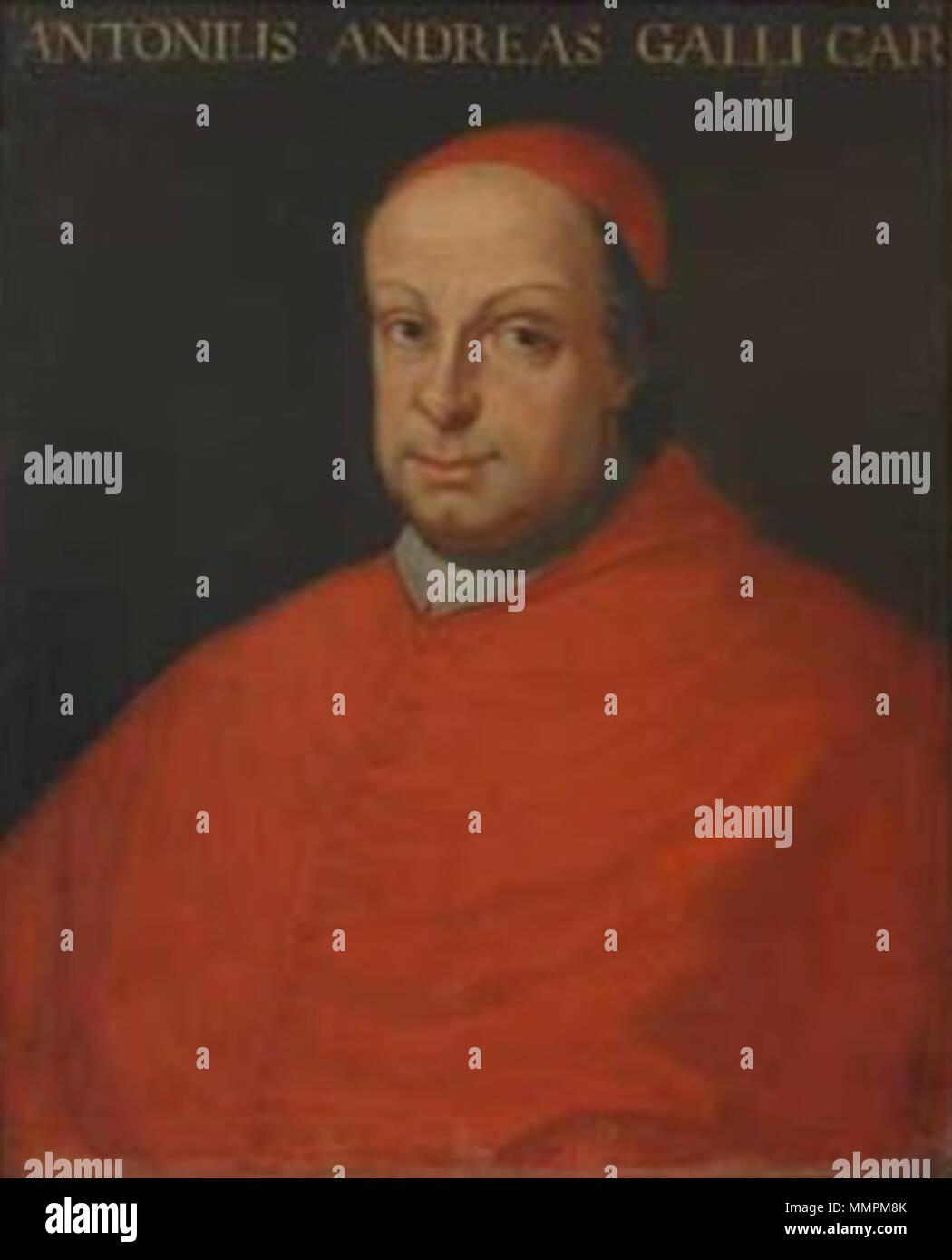 . English: Antonio Andrea Galli, cardinal of the Roman Catholic Church  277 R Galli Antonio Andrea.TIF CAMERA       : E990V1.1 METERING     : MATRIX MODE         : A SHUTTER      : 1/1sec APERTURE     : F6.4 EXP +/-      : -1.7 FOCAL LENGTH : f15.6mm(X1.0) IMG ADJUST   : AUTO SENSITIVITY  : ISO100 WHITEBAL     : AUTO SHARPNESS    : AUTO DATE         : 03.07.2002 09:01 QUALITY      : FULL HI Antonio Andrea Galli - Stock Image