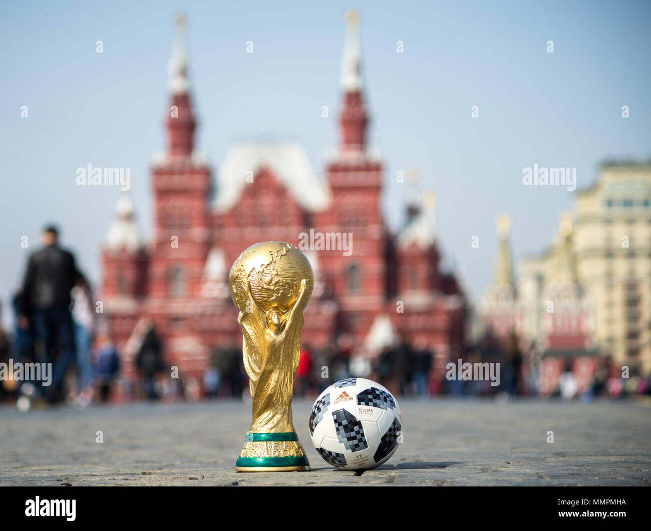 Wonderful Fifa World Cup 2018 - april-16-2018-moscow-russia-trophy-of-the-fifa-world-cup-and-official-ball-of-fifa-world-cup-2018-adidas-telstar-18-on-the-red-square-in-moscow-MMPMHA  Best Photo Reference_18832 .jpg