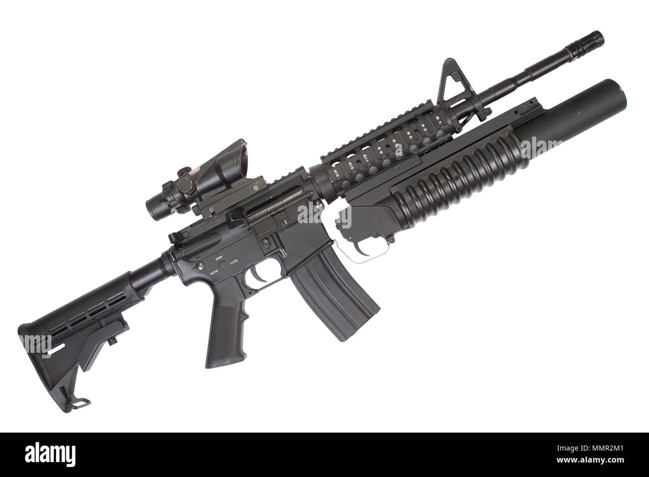 M4 Carbine M4a1 Carbine Stock Photos & M4 Carbine M4a1