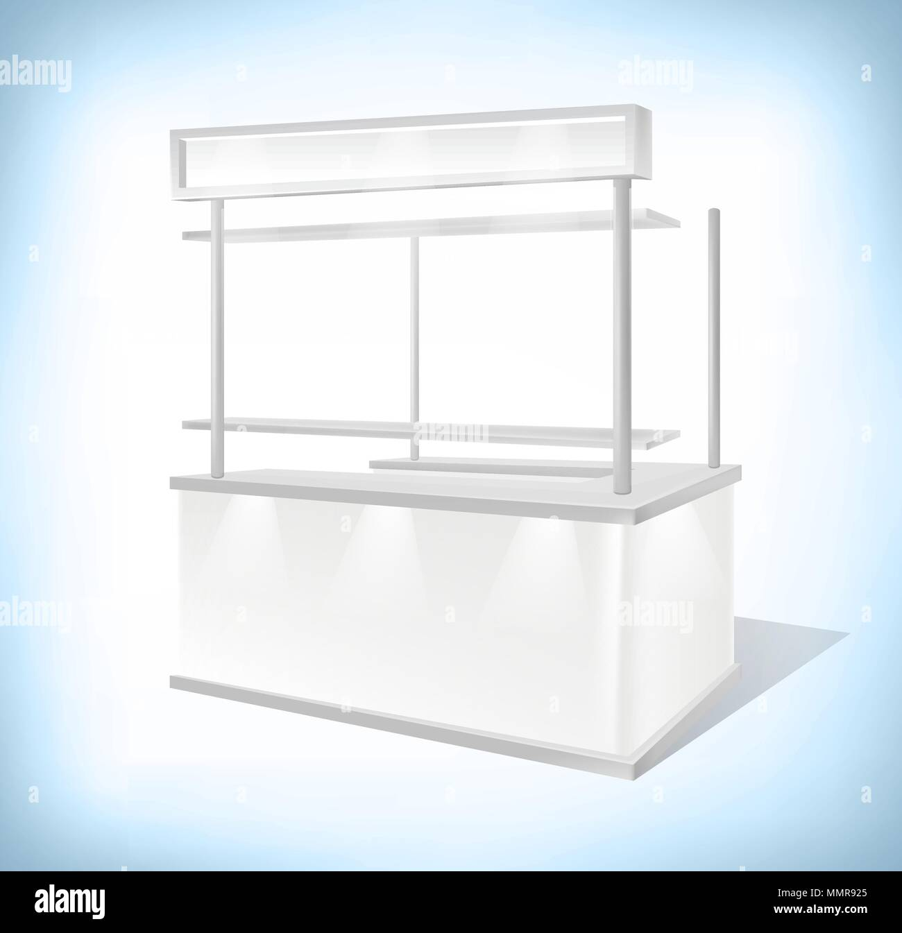 Exhibition Stall Mockup : Trade exhibition promo stand sales kiosk retail trade stand. mockup
