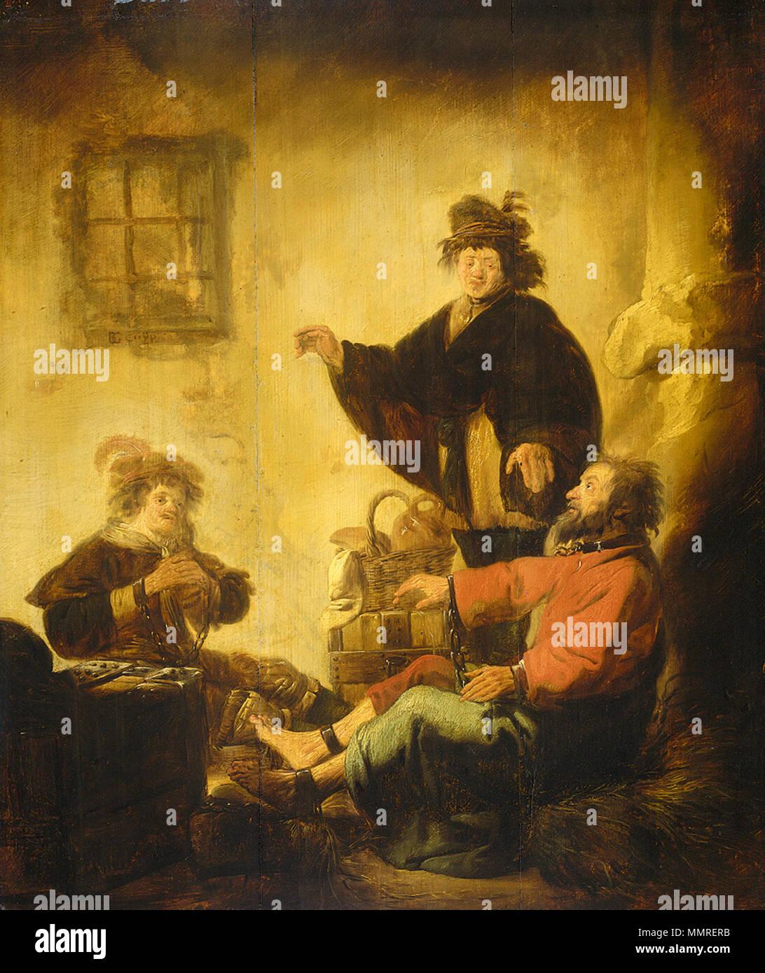 Joseph Interpreting The Dreams Of Baker And Butler Circa 1630 1629