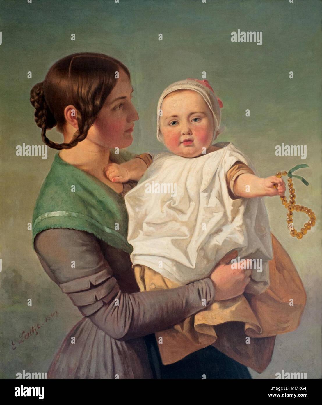 Die Bernsteinkette 1847 Emanuel Leutze 18161868 Alternative Gm Control Location Names Gottlieb Description German American Painter And Artist Date Of Birth Death 24 May 1816 18 July 1868 Gmnd