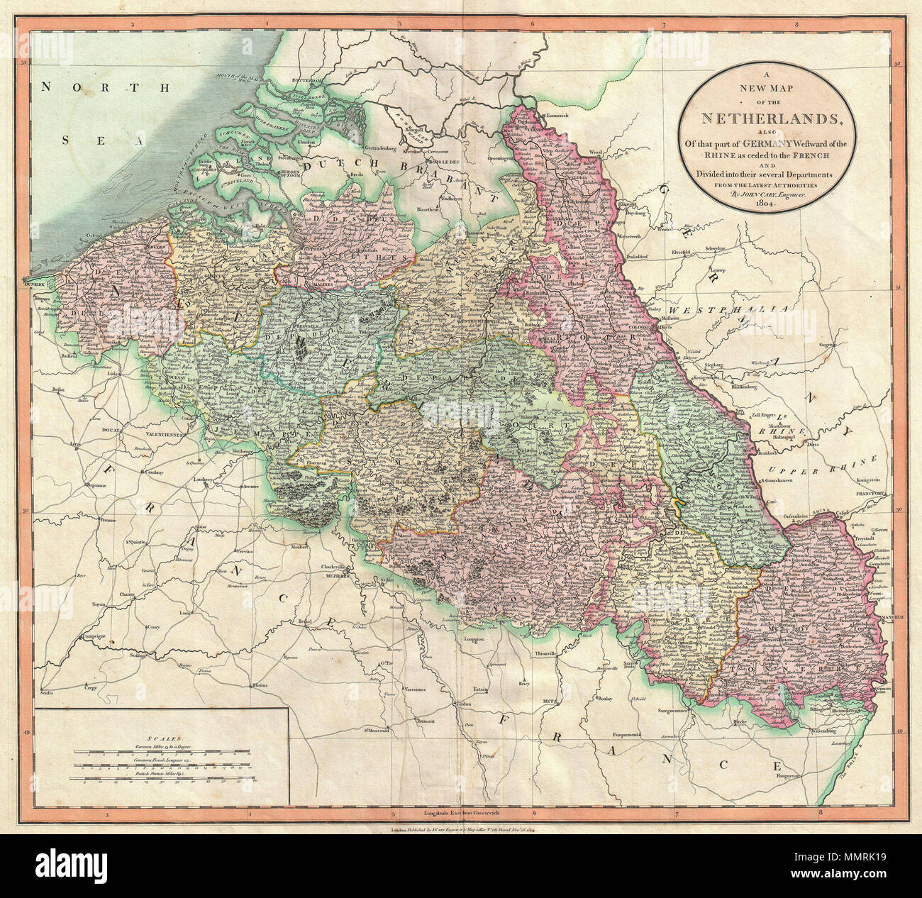 Map Of Germany Luxembourg Belgium.English Despite Being Entitled The Netherlands This Map Is John