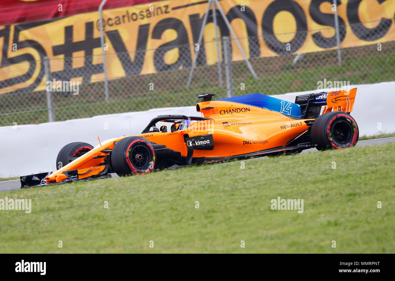 12.05.2018 fernando alonso (esp) mclaren f1 team at formula one
