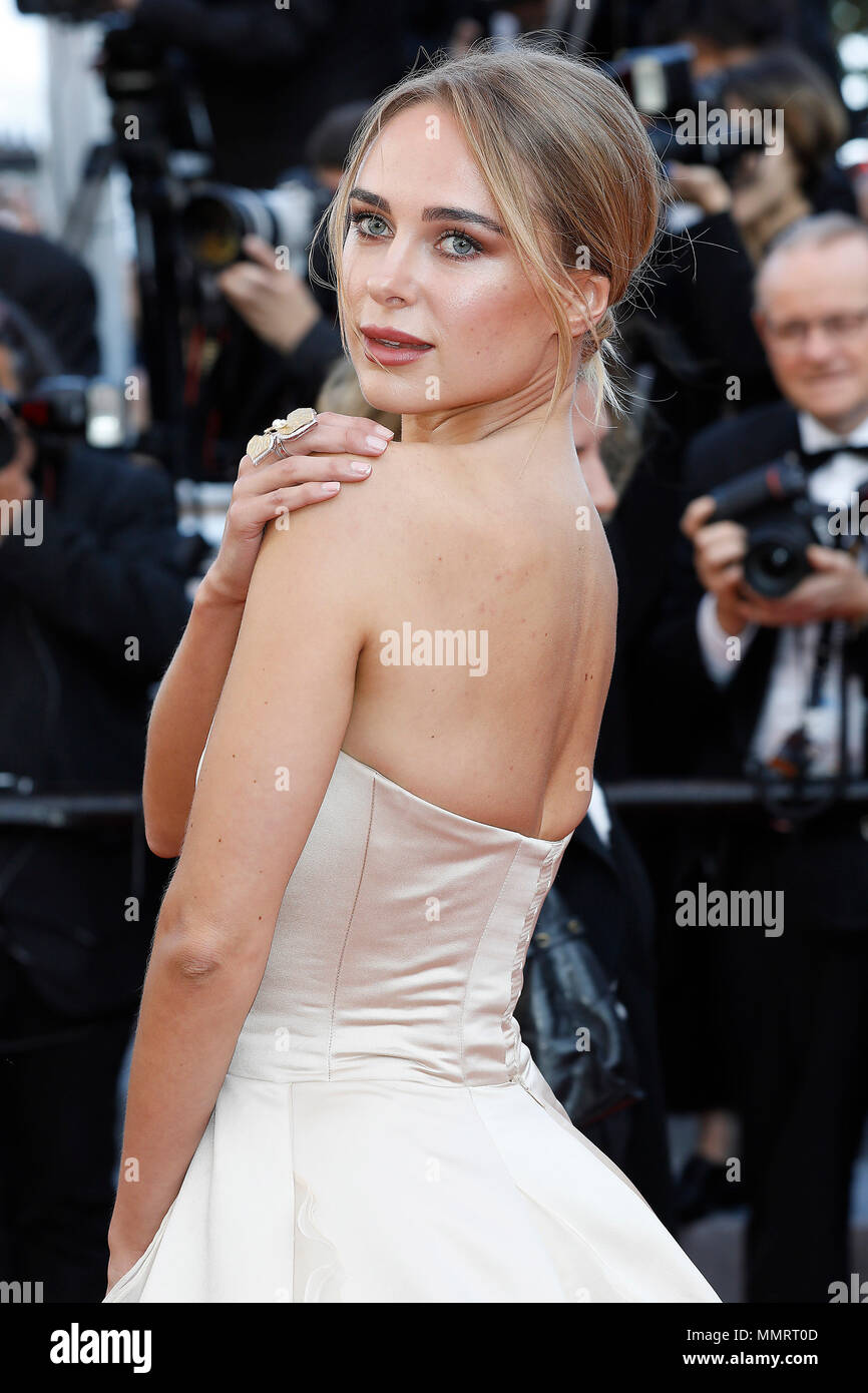 Kimberley Garner at the 'Girls Of The Sun (Les Filles Du Soleil)' premiere during the 71st Cannes Film Festival at the Palais des Festivals on May ZZZ, 2018 in Cannes, France. Credit: John Rasimus/Media Punch ***FRANCE, SWEDEN, NORWAY, DENARK, FINLAND, USA, CZECH REPUBLIC, SOUTH AMERICA ONLY*** - Stock Image